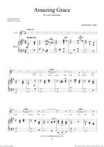 Amazing Grace (in G) Sheet Music