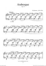 Arabesque, Op.18 Sheet Music