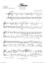 Arioso - Dank sei dir, Herr Sheet Music