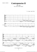 The Art of the Fugue, BWV 1080 - Contrapunctus II Sheet Music