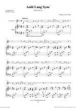 Auld Lang Syne Sheet Music