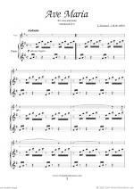 Ave Maria (in G for soprano) Sheet Music