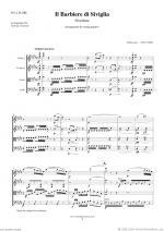 Il Barbiere di Siviglia, Overture (f.score) Sheet Music