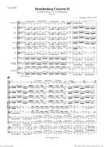 Brandenburg Concerto II (f.score) Sheet Music