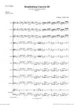 Brandenburg Concerto III (f.score) Sheet Music