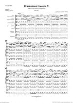 Brandenburg Concerto VI (ALL) Sheet Music