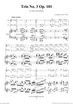 Trio No.3 Op.101 Sheet Music