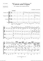 Canon in D & Gigue (ALL) Sheet Music