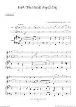 Christmas Sheet Music and Carols to download for two violins & piano Sheet Music