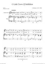 Christmas Sheet Music and Carols to download for clarinet & piano Sheet Music