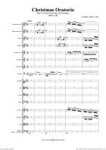 Christmas Oratorio, part I (f.score) Sheet Music