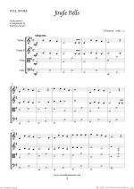 Christmas Sheet Music and Carols to download for string quartet Sheet Music