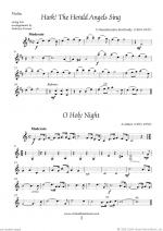 Christmas Sheet Music and Carols to download for string trio Sheet Music