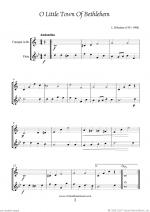 Christmas Sheet Music and Carols to download for trumpet & flute Sheet Music