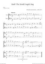 Christmas Sheet Music and Carols to download for two tubas Sheet Music