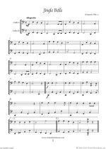 Christmas Sheet Music and Carols to download for two cellos Sheet Music