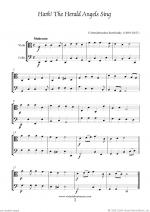 Christmas Sheet Music and Carols to download for viola & cello Sheet Music