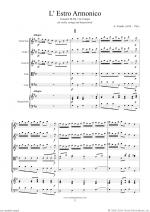 Concerto in G major Op.3 No.3 (f.score) Sheet Music