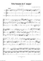 Trio Sonata in C major Op.1 No.7 (f.score) Sheet Music