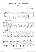 Sonata No.2 in Bb minor Op.35 Sheet Music