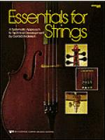 Essentials For Strings-String Bass Sheet Music