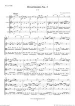Divertimento No.3 K138 (ALL) Sheet Music