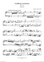 Goldberg Variations, part II Sheet Music