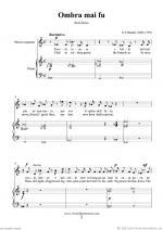 Mezzo Soprano Arias Sheet Music