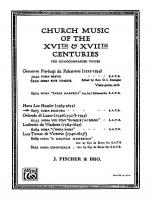 Missa Secunda Sheet Music