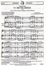 O Bethlehem (arr Poston) Sheet Music