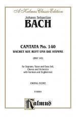 Cantata No. 140 -- Wachet auf, ruft uns die Stimme Sheet Music
