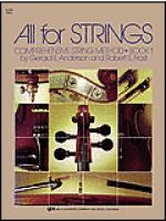 All For Strings - Book 1 (Violin) Sheet Music