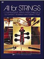 All For Strings Book 2-Cello Sheet Music