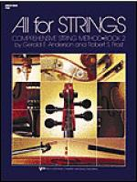 All For Strings Book 2-String Bass Sheet Music
