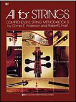 All For Strings Book 3-Cello Sheet Music