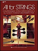 All For Strings Book 3-String Bass Sheet Music