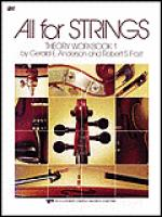 All For Strings Theory Workbook 1-Cello Sheet Music