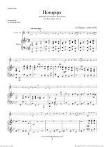Hornpipe from Water Music (in Bb, trumpet in Bb) Sheet Music
