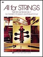 All For Strings Theory Workbook 1-Viola Sheet Music