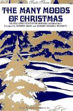 Many Moods Christmas - Suite 3 (SATB - Choir) Sheet Music