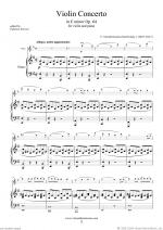 Concerto in E minor Op.64 Sheet Music