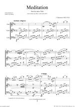 Meditation from Thais (ALL) Sheet Music