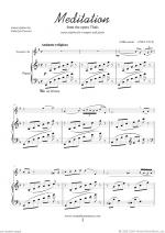 Meditation from Thais Sheet Music