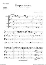 Sleepers Awake (f.score) Sheet Music