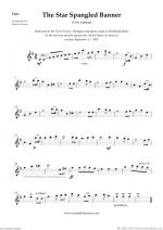 The Star Spangled Banner Sheet Music
