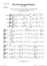 The Star Spangled Banner (in G, f.score) Sheet Music