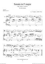 Sonata in F major Op.14 No.2 Sheet Music