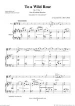 To a Wild Rose Op.51 No.1 Sheet Music