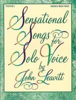 Sensational Songs for Solo Voice, Volume 2 Sheet Music