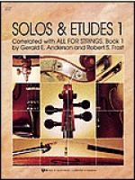 Solos and Etudes, Book 1-Violin Sheet Music